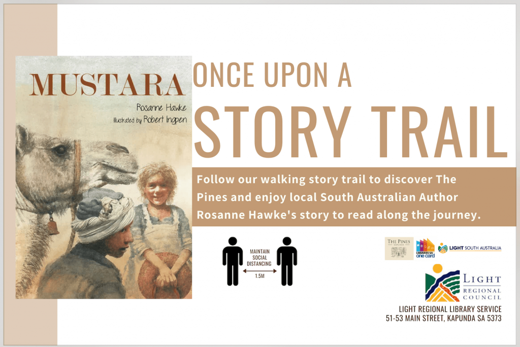 Once Upon A Story Trail - Mustara